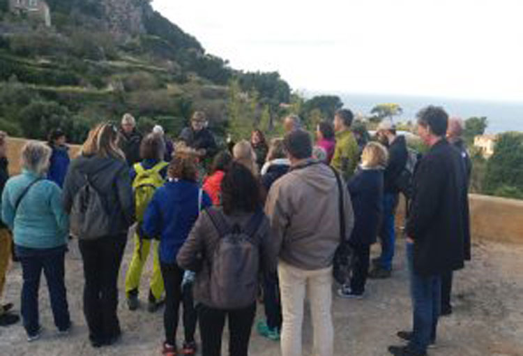 El II Seminari per a Guies de Muntanya té lloc a la Serra de Tramuntana