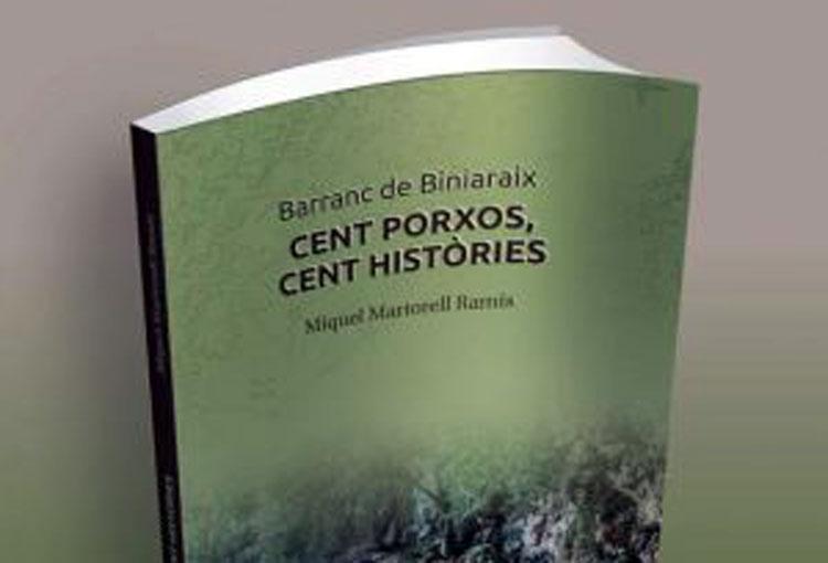 """Presentam el llibre """"Cent porxos, cent històries"""" de Miquel Martorell"""