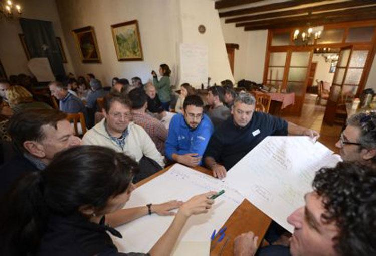Gestors de la Serra de Tramuntana es reuneixen a Bàlitx d'Avall