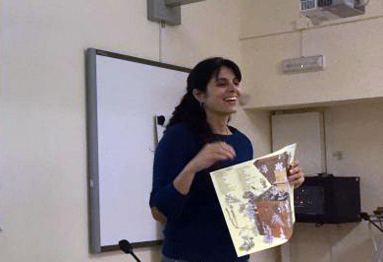 Presentació dels mapes didàctics de la Serra al professorat