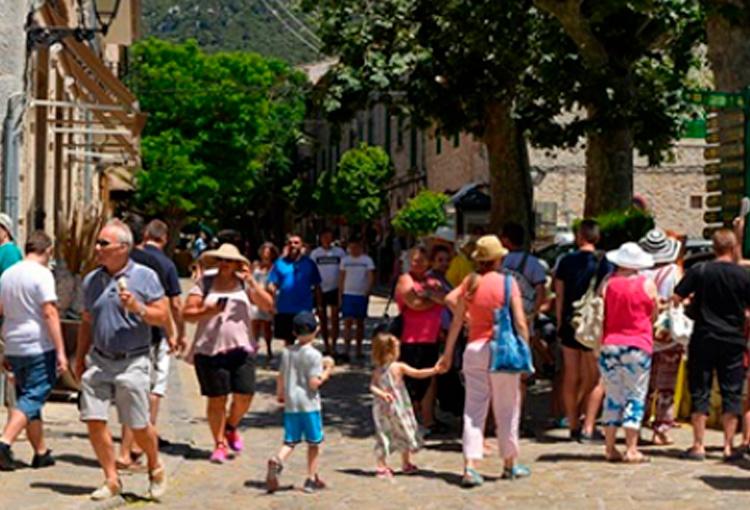 Estudi de capacitat de càrrega turística a Valldemossa