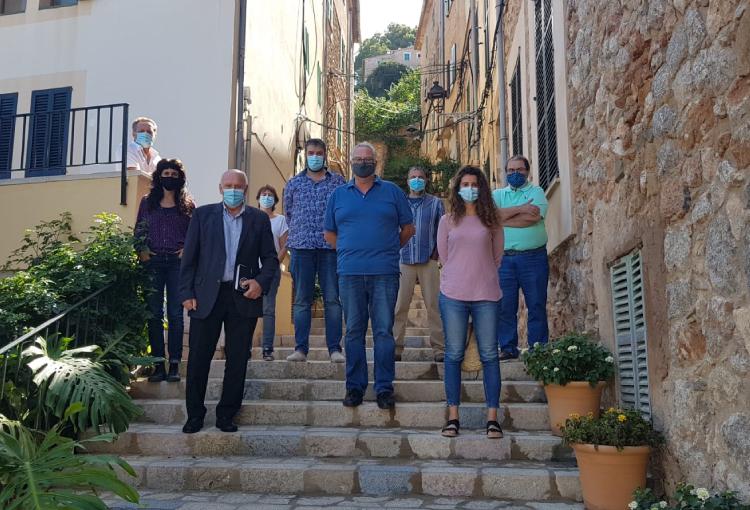 Batles dels municipis de la Serra cerquen solucions a  la conducció temerària i renous a la carretera Ma-10