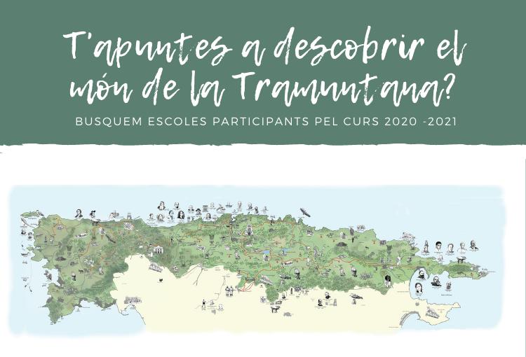 Comença la tercera edició del programa d'Educació Ambiental «La Serra de Tramuntana: un món per descobrir»