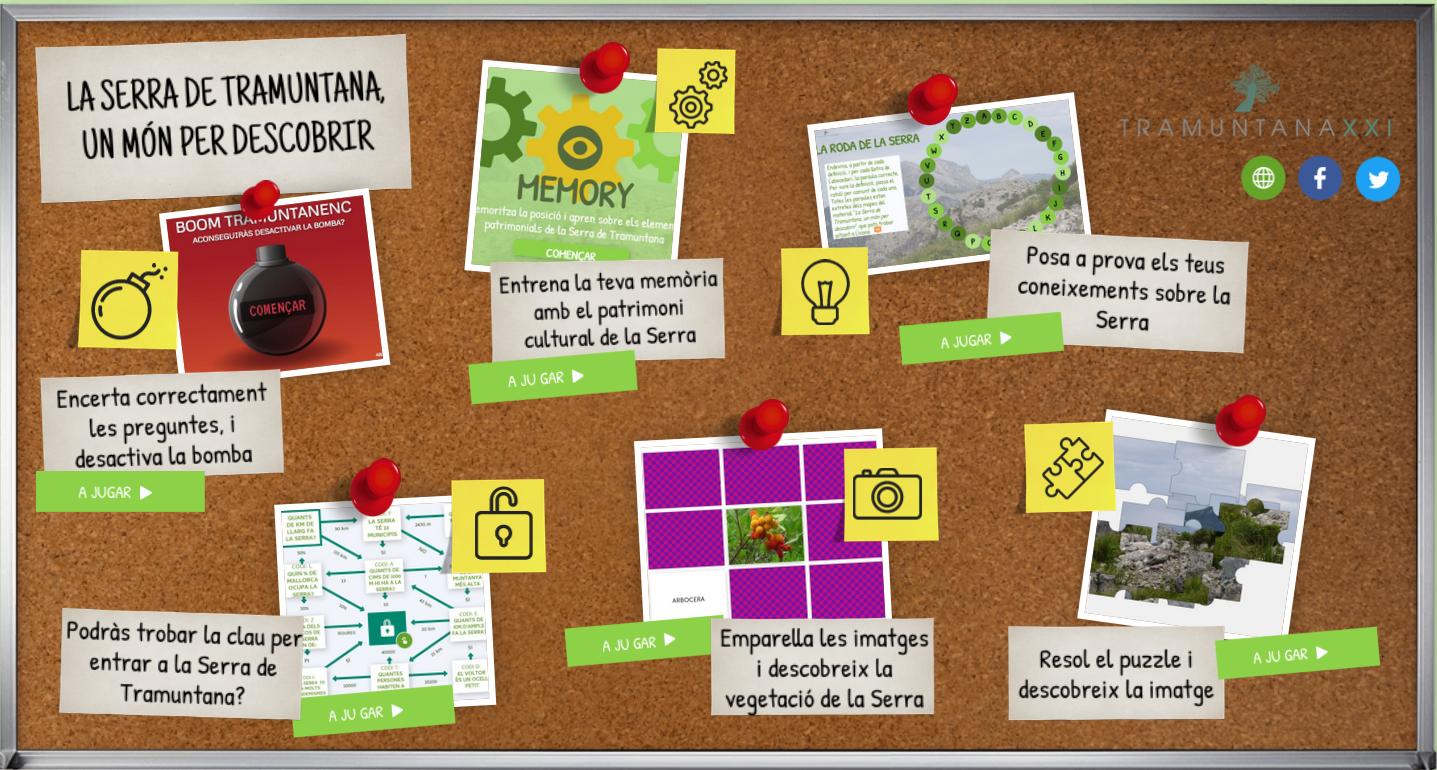 Jocs interactius per acostar la Serra de Tramuntana a les aules