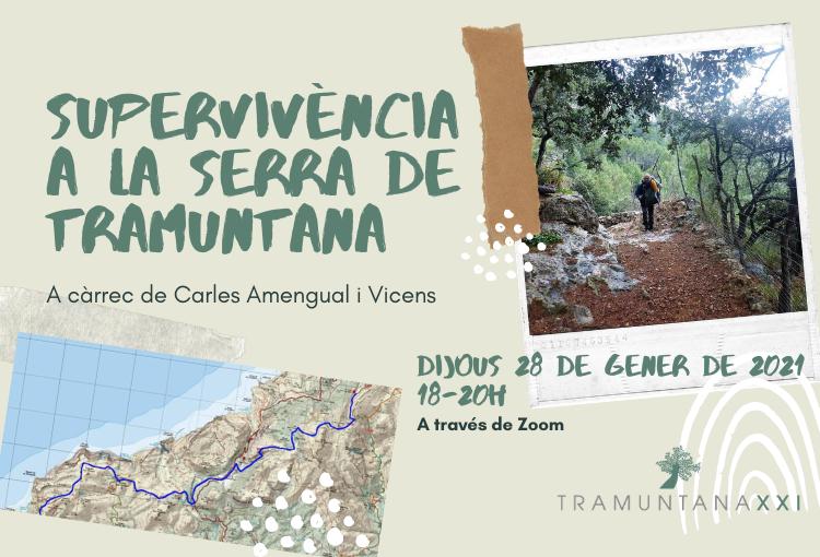 """Conferència: """"Supervivència a la Serra de Tramuntana"""""""