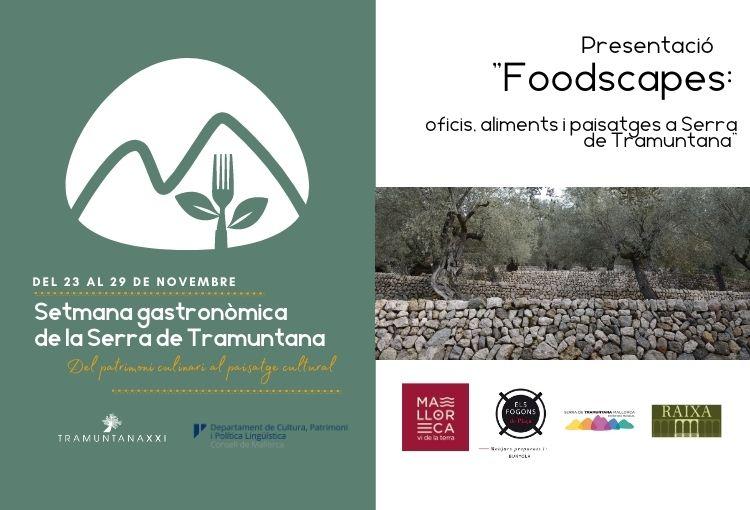 Presentació estudi Foodscapes: oficis, aliments i paisatges a la Serra de Tramuntana