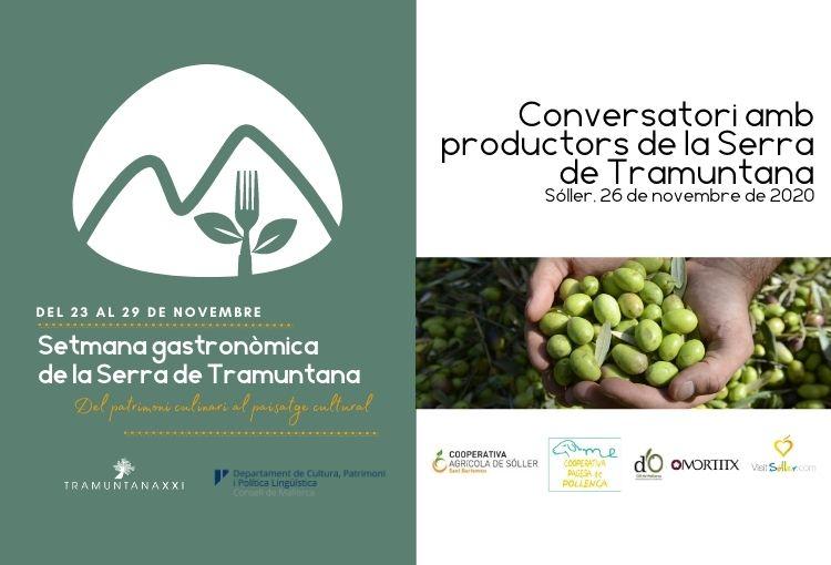 Conversatori amb productors de la Serra de Tramuntana