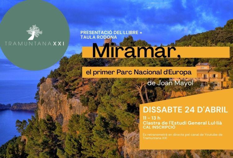 """Presentació del llibre """"Miramar, el primer Parc Nacional d'Europa"""""""